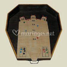 Jeux traditionnels en bois