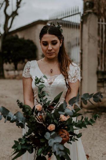 Bouquet sublimé wild