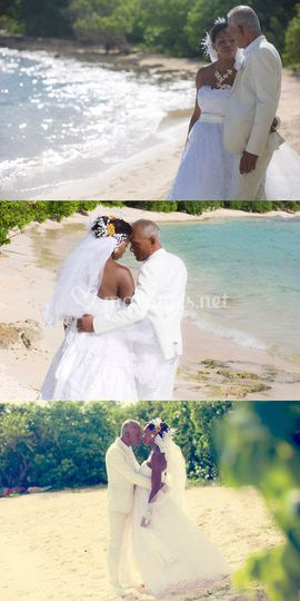 Photo de couple en Guadeloupe