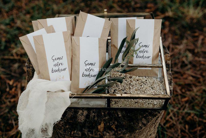 étiquettes graines à semer