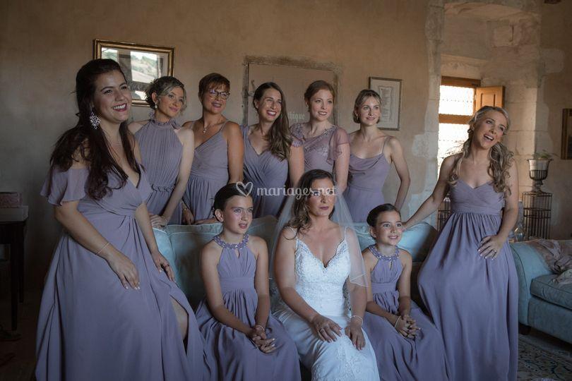 Bride's Team !