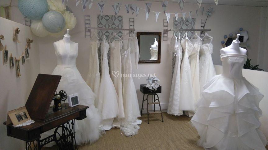 Robe mariée Aubagne Vintage