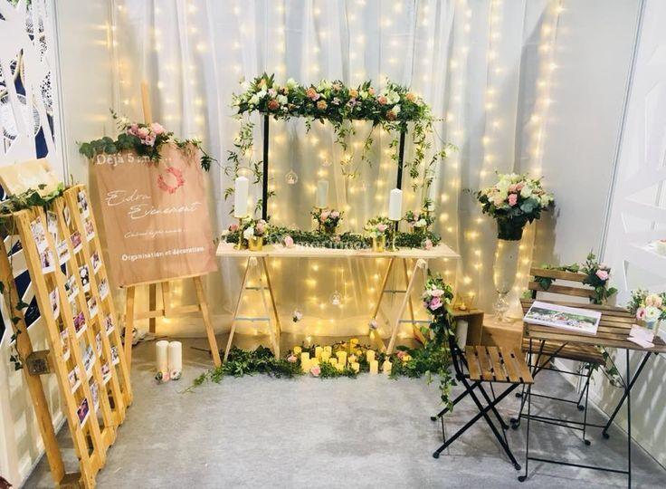 Stand Salon du mariage 2018