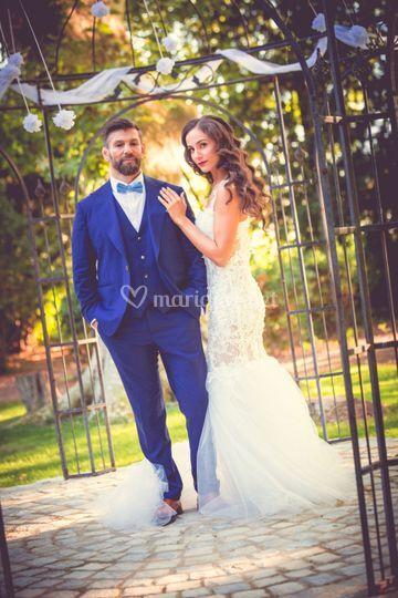 Photo de couple à la gloriette