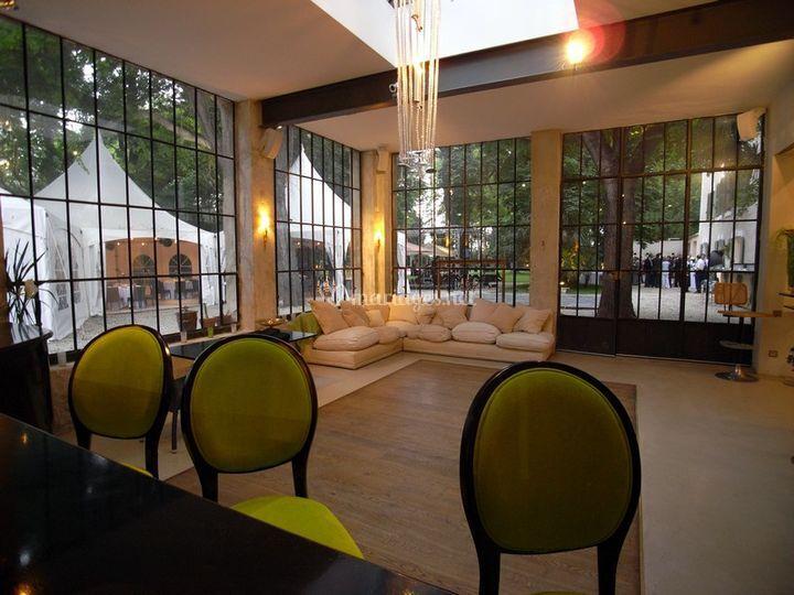 L'Orangerie vue du bar