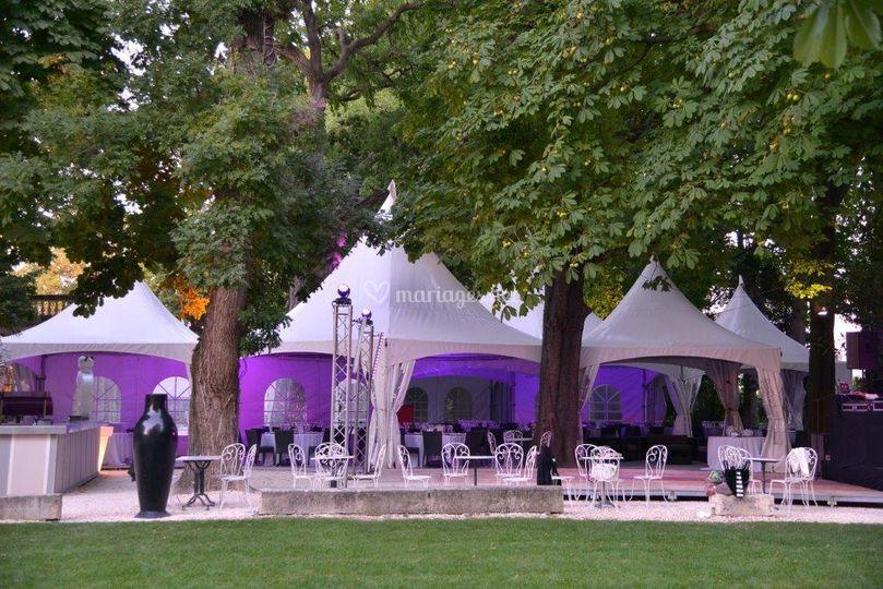 Les tentes pagode 2