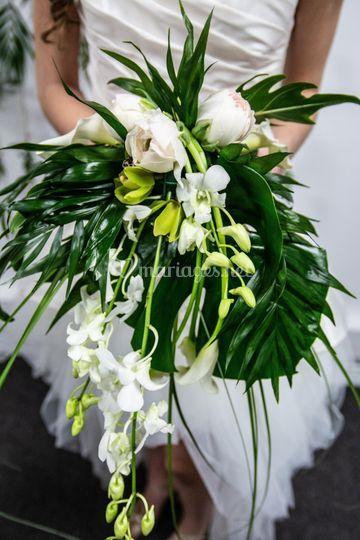 Bouquet Thème tropical
