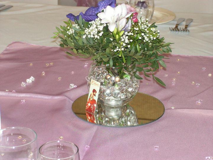 Vase bulle avec led