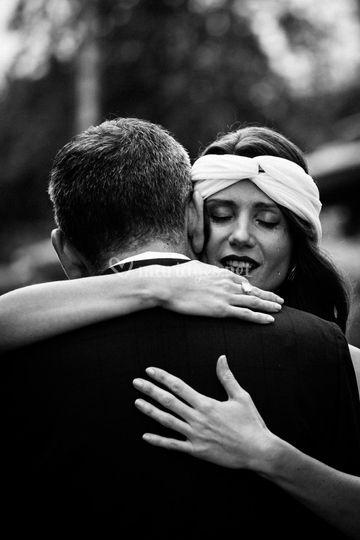 La larme de la mariée