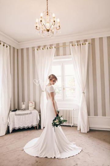 Une mariée en pronovias