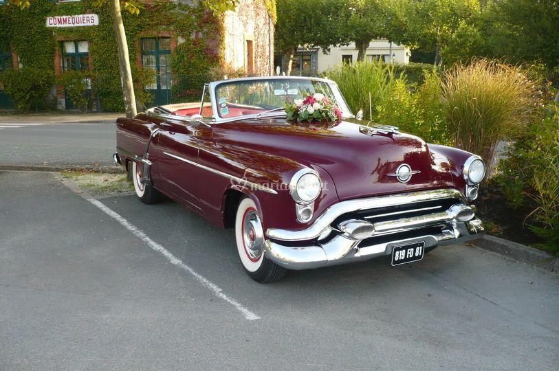 La Oldsmobile 1953 décorée