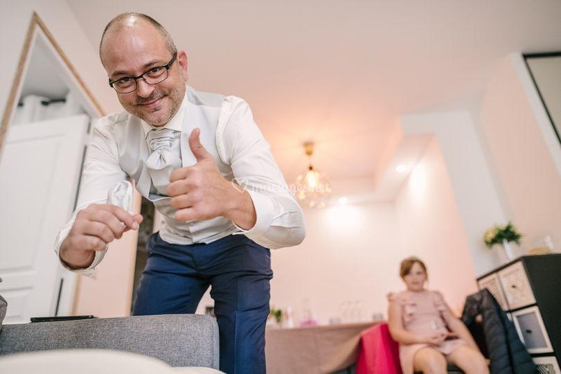 Le futur marié : la pochette