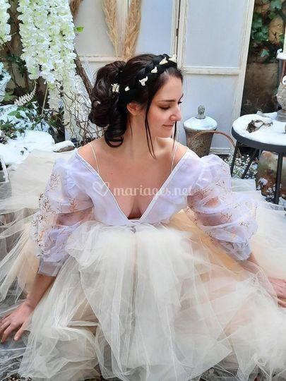 Robe de mariée Botanica gold