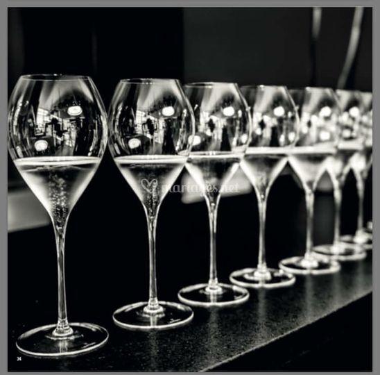 Le service par les verres