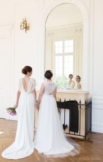 Robe Sandra et robe Julia