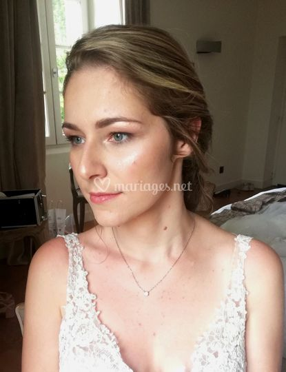 Maquillage nude et lumineux