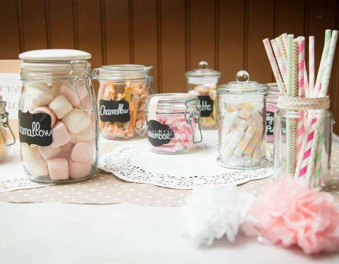 Candy bar a bonbons