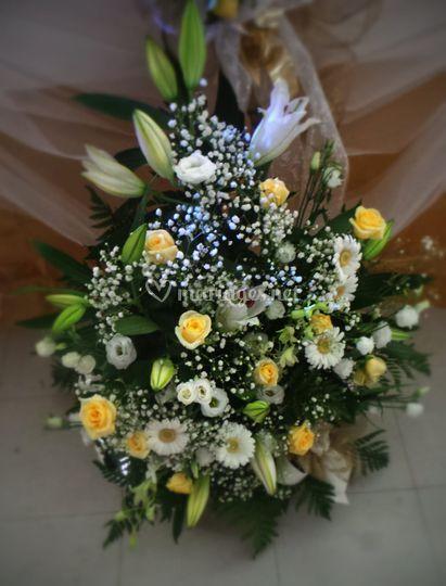 Bouquet sol, église, mairie