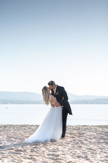 Photo de couple plage