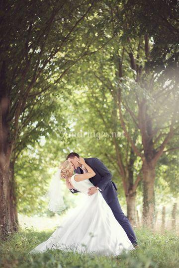 Laurie et Ed, photo de couple