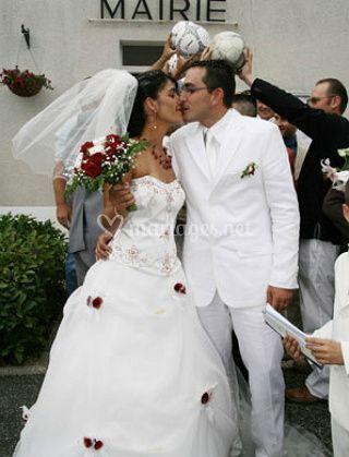 Un grand baiser d'amour