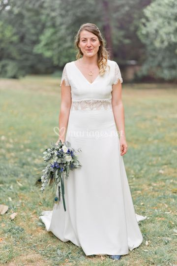Une jolie mariée