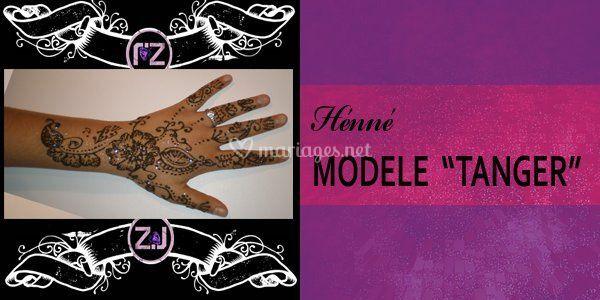 Henné modèle Tanger
