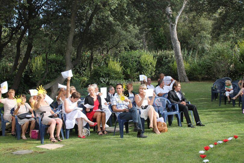 Participation des invités