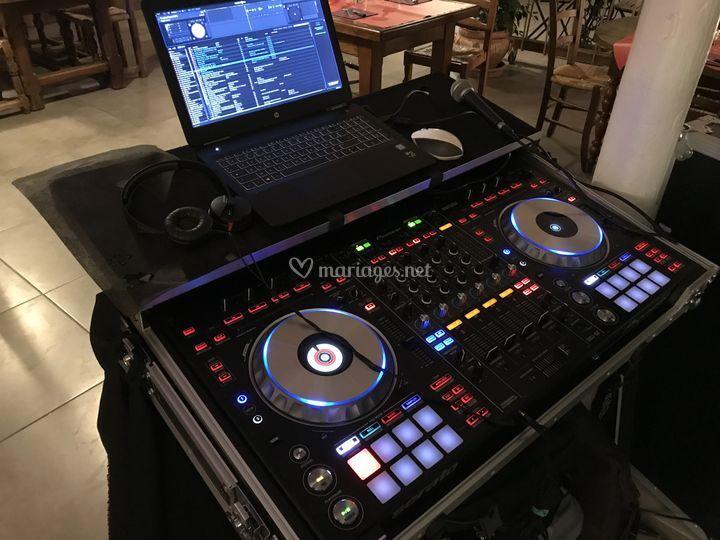 Platine du DJ