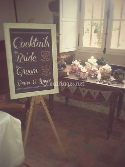 Cocktails des Mariés