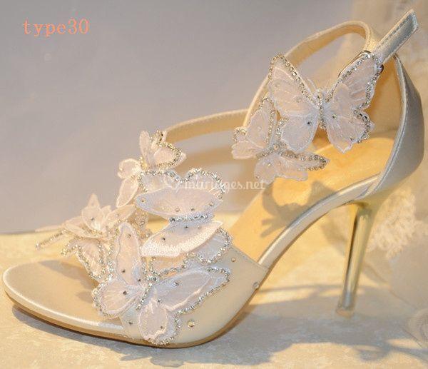 Chaussures de mariée Julia