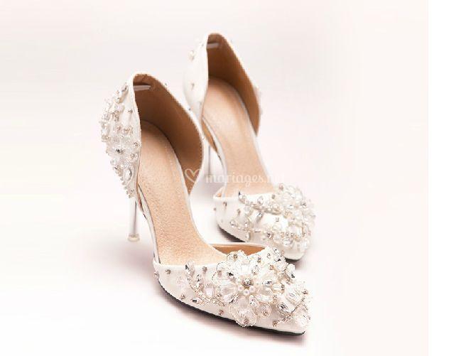 Chaussures de mariée Victoria2