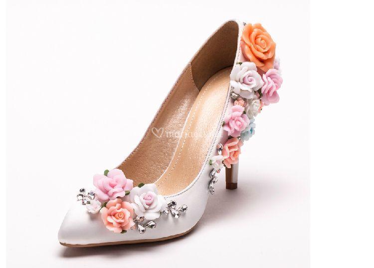 Chaussures de mariée Isabel4