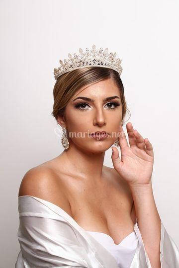 Maquillage spécial mariée