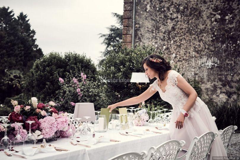 Table de la mariée