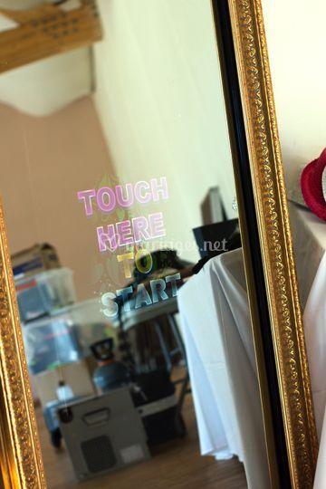 Miroir à selfies classique