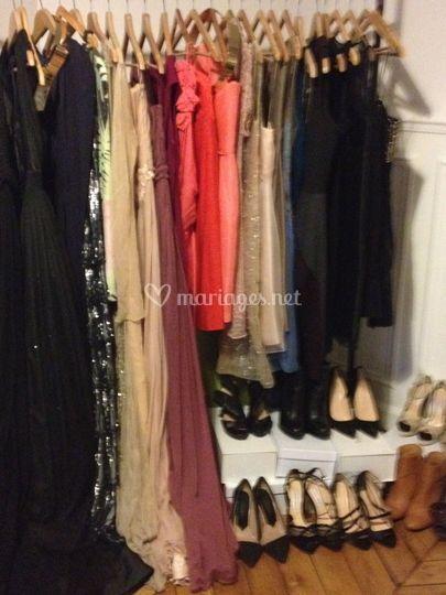 Les robes du showroom