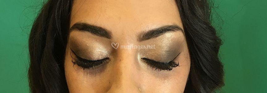 Exemple de maquillage