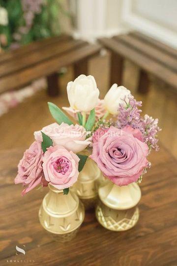 Petites compositions florales