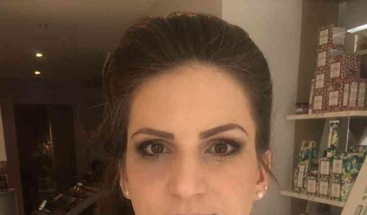 Maquillage d'une mariée