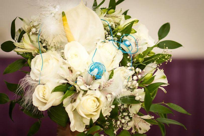 Bouquet avec tige création