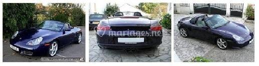 Porsche noire
