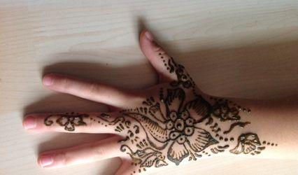 Henna Lahnina - Tatouages au henné 1