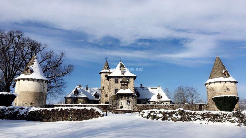 Vixouze sous la neige