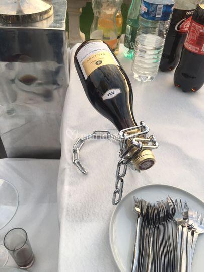 Animation de vin