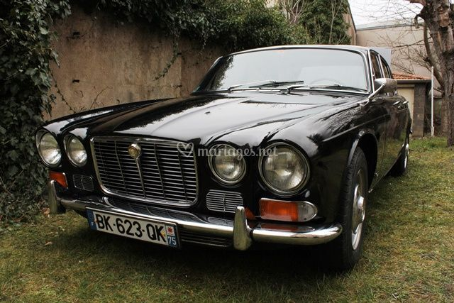 Jaguar avec chauffeur