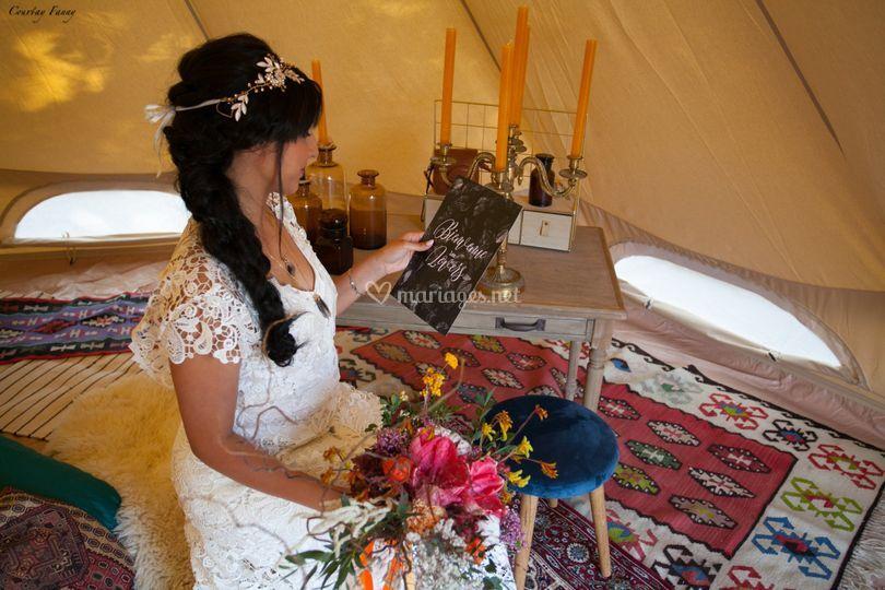 Mariée Bohême