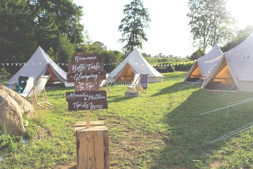 Grand Glamping 40 personnes