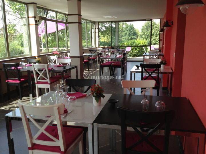 salle de restaurant sur golf de gonesse - Golf De Domont Mariage