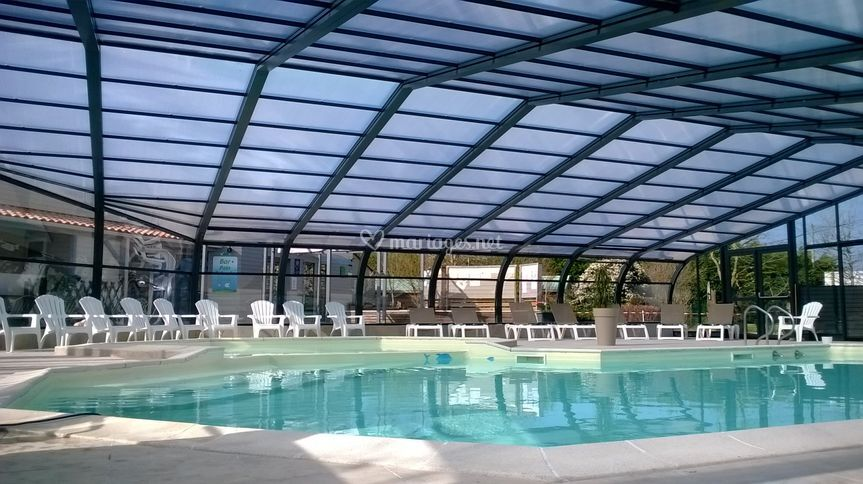 Camping les charmes for Piscine orvault